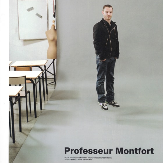 Professeur Montfort