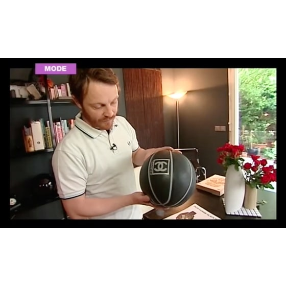 Mode - Le ballon de basket Chanel