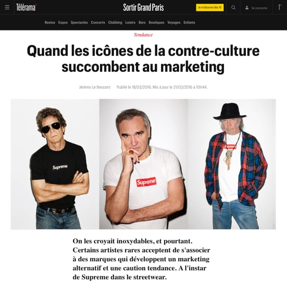Quand les icônes de la contre-culture succombent au marketing