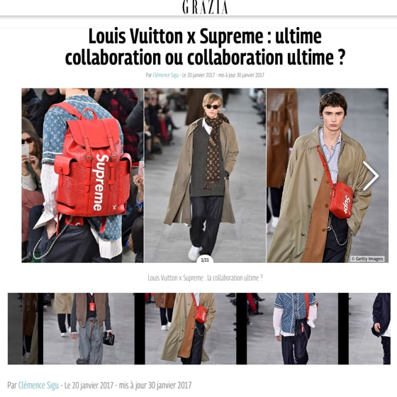 Louis Vuitton x Supreme : Ultime collaboration ou collaboration ultime ?